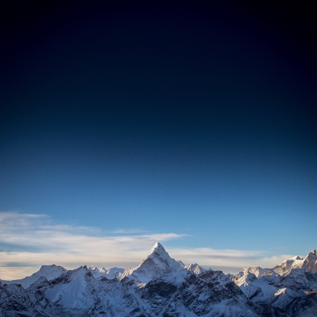 """The Himalayas"" stock image"