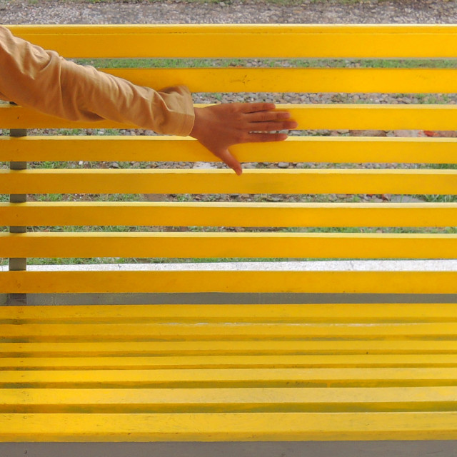 """sit on yellow"" stock image"