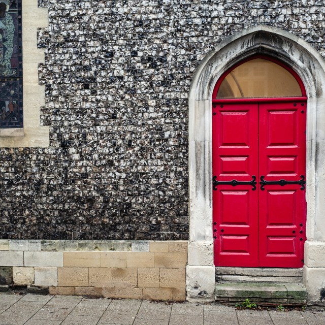 """Red Door"" stock image"