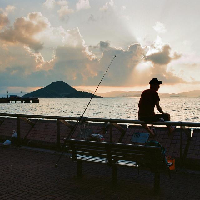"""Kennedy Town, Hong Kong"" stock image"