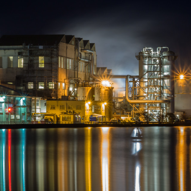 """""""Cantley Sugar Factory"""" stock image"""