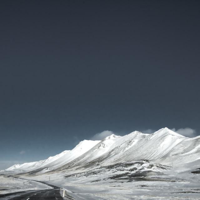"""""""hadegistindur - Iceland"""" stock image"""