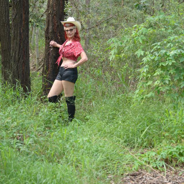"""""""In the Bush"""" stock image"""