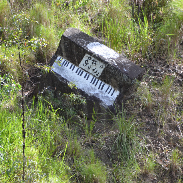 """Rock Piano"" stock image"