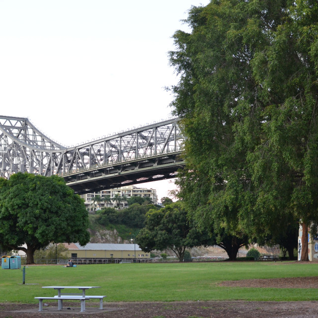 """Story Bridge"" stock image"
