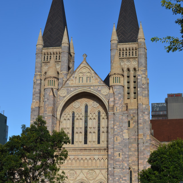 """St Johns Cathedral"" stock image"