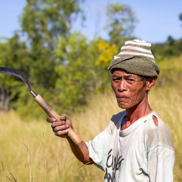 """""""People of Bali IX"""" stock image"""