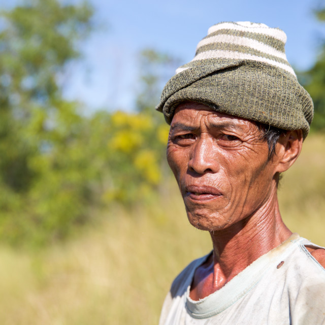 """""""People of Bali VIII"""" stock image"""