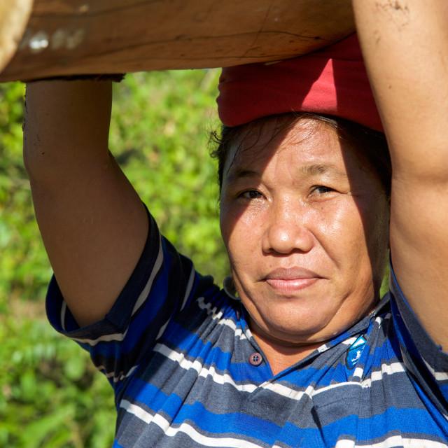 """""""People of Bali X"""" stock image"""