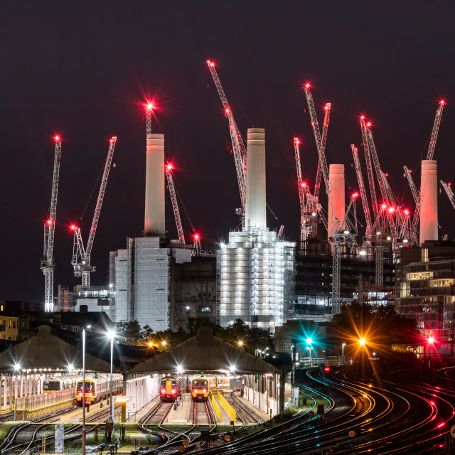 """Battersea Power Station"" stock image"