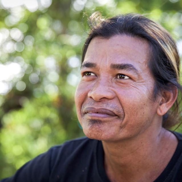 """""""People of Bali XV"""" stock image"""