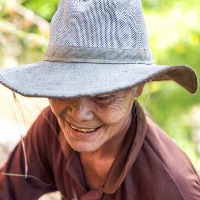 """""""People of Bali XVIII"""" stock image"""