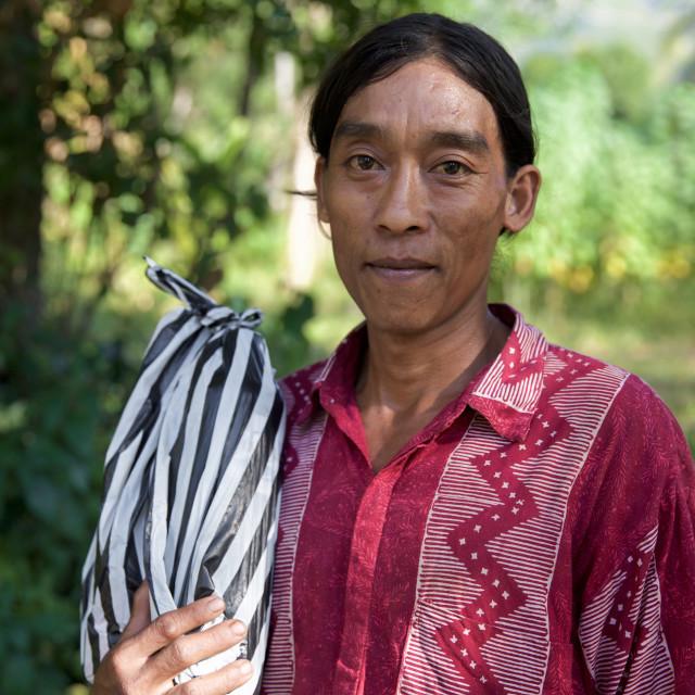 """""""People of Bali XXI"""" stock image"""