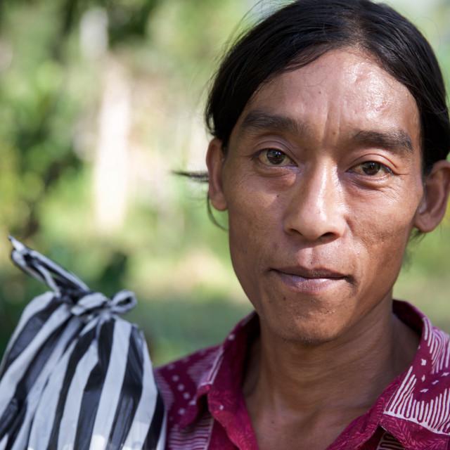 """""""People of Bali XXII"""" stock image"""