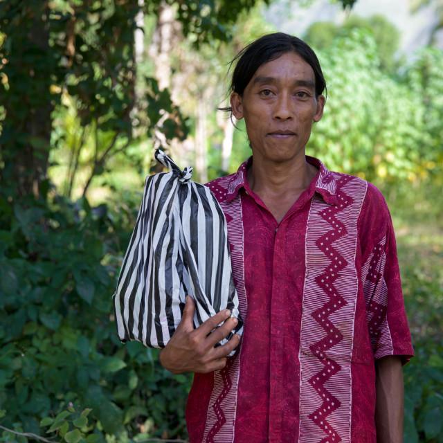"""""""People of Bali XXIII"""" stock image"""
