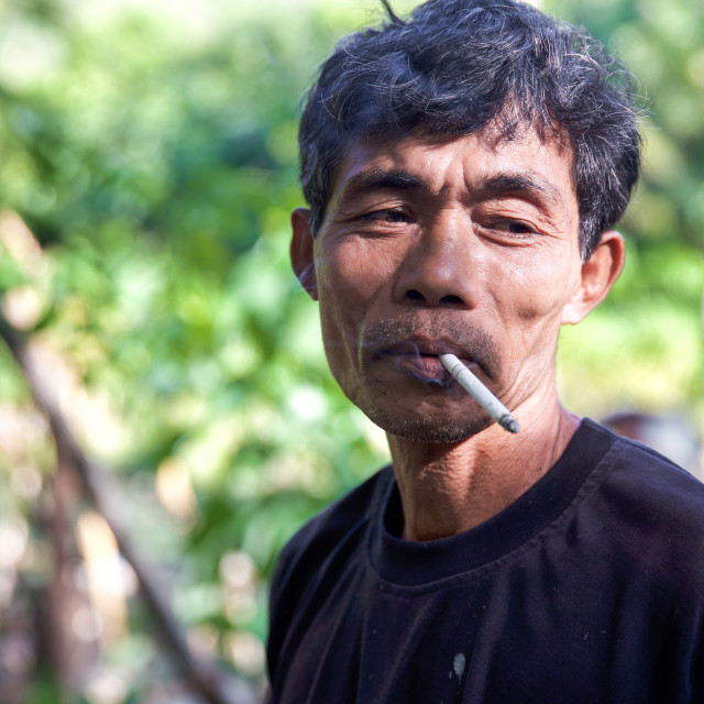 """People of Bali XXV"" stock image"