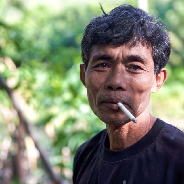"""""""People of Bali XXIV"""" stock image"""