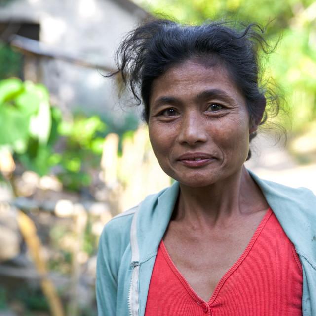 """""""People of Bali XXVII"""" stock image"""