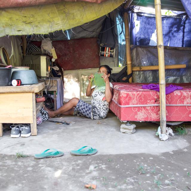"""""""People of Bali XXIX"""" stock image"""