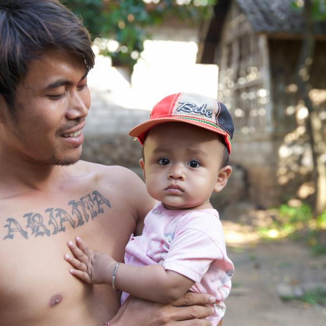 """""""People of Bali XXXII"""" stock image"""