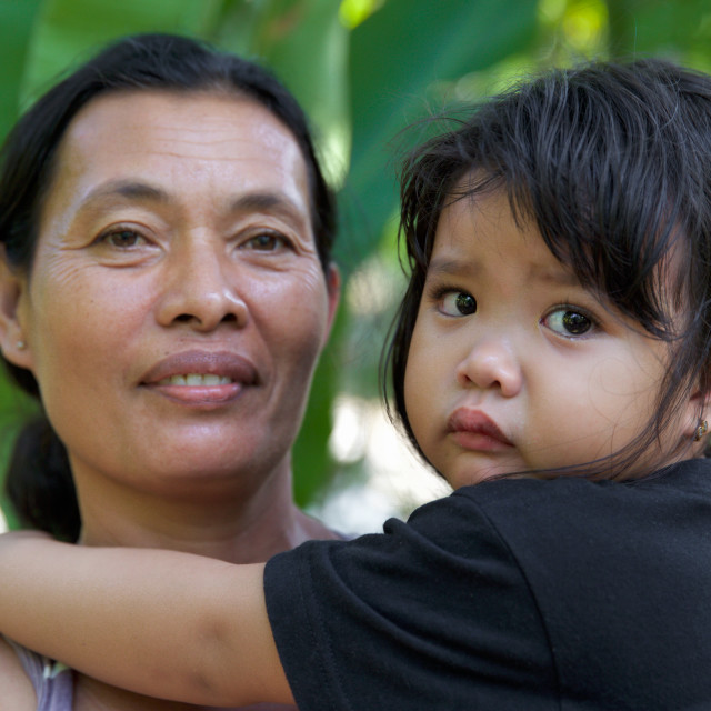 """""""People of Bali XXXI"""" stock image"""