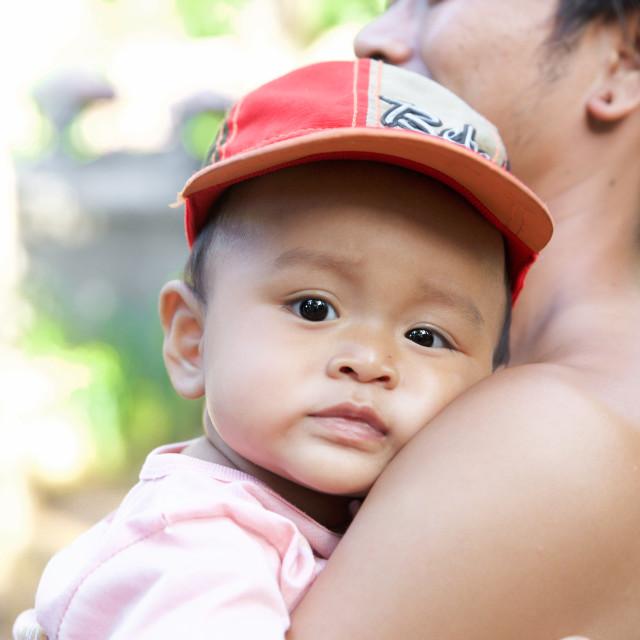 """""""People of Bali XXXIII"""" stock image"""