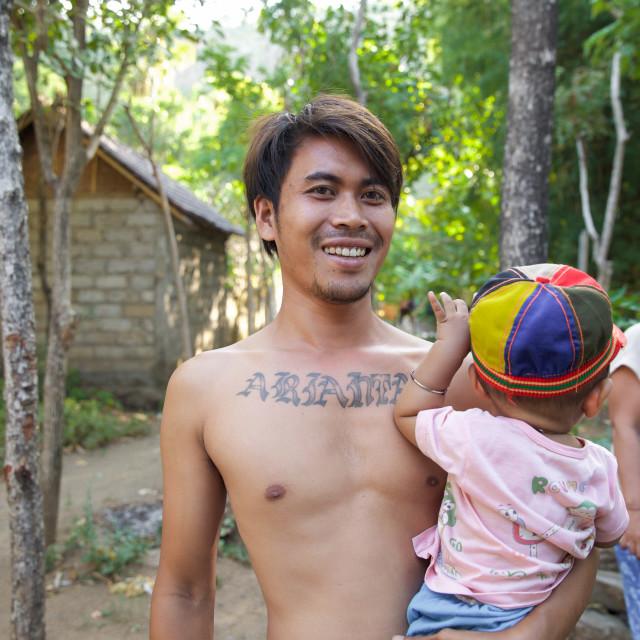 """People of Bali XXXV"" stock image"