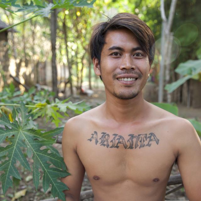 """People of Bali XXXVI"" stock image"