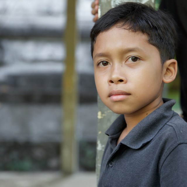 """""""People of Bali XXXVII"""" stock image"""