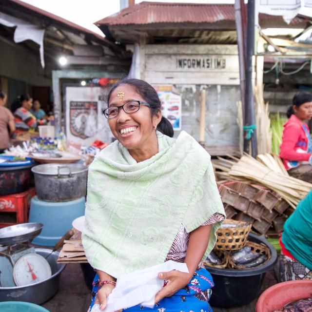 """""""People of Bali XLII"""" stock image"""