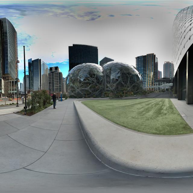"""""""Amazon III - Spheres"""" stock image"""