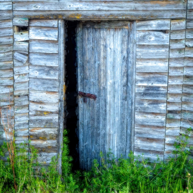 """""""Derelict Shed"""" stock image"""