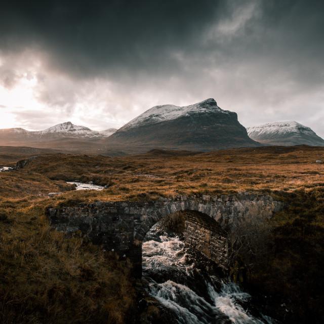 """Sutherland, Scotland"" stock image"