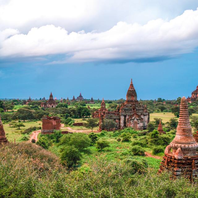 """""""Bagan Landscape"""" stock image"""