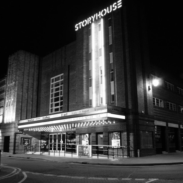 """""""Storyhouse, Chester."""" stock image"""