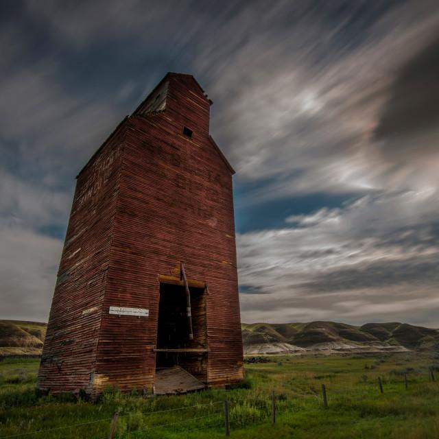 """Dorothy, Alberta"" stock image"