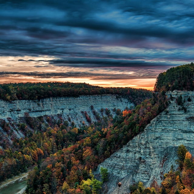 """Letchworth State Park, New York"" stock image"