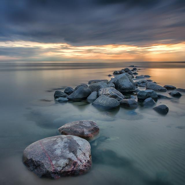 """Port Elgin, Ontario Sunset"" stock image"