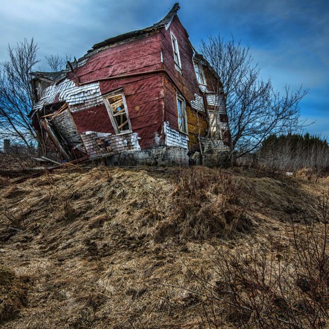 """Slumpy, near Shelburne Ontario"" stock image"