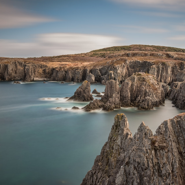"""Spillar's Cove, NL Canada"" stock image"