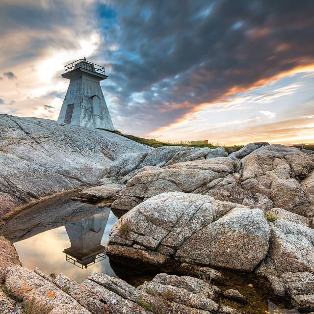 """Terence Bay Nova Scotia"" stock image"