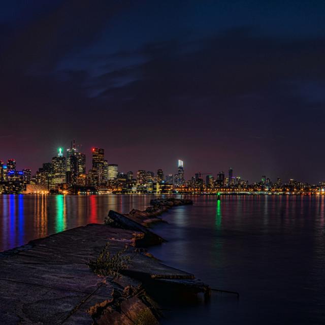 """""""Toronto Skyline Panorama"""" stock image"""