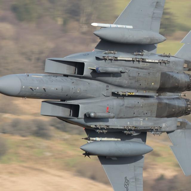 """USAF F-15E"" stock image"