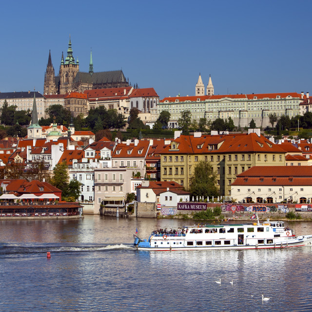 """Hradcany in Prague"" stock image"