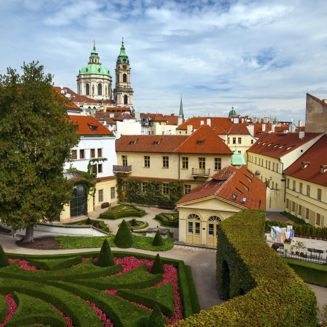 """Vrtba Gardens in Prague"" stock image"
