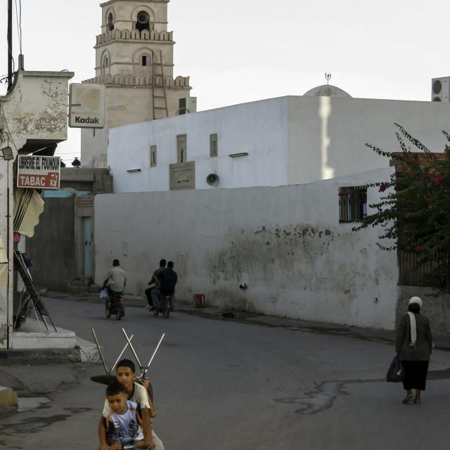 """Tunisian Cargo 1"" stock image"