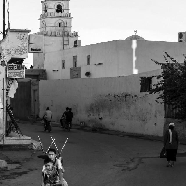"""Tunisian Cargo 2"" stock image"
