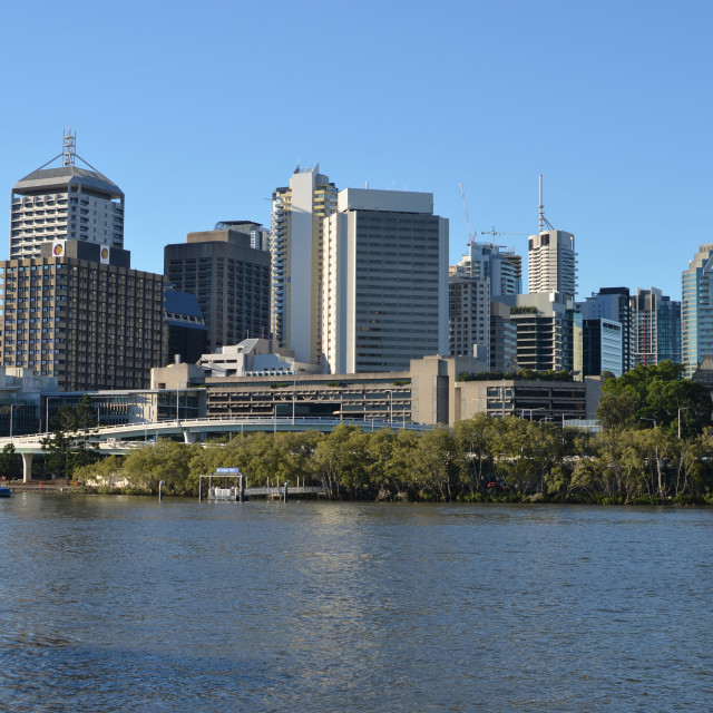 """Brisbane City"" stock image"
