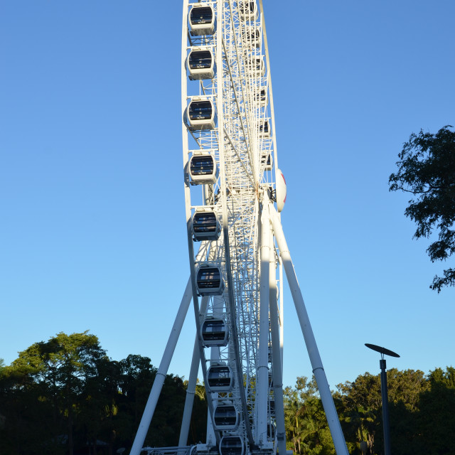 """Big Wheel Brisbane"" stock image"