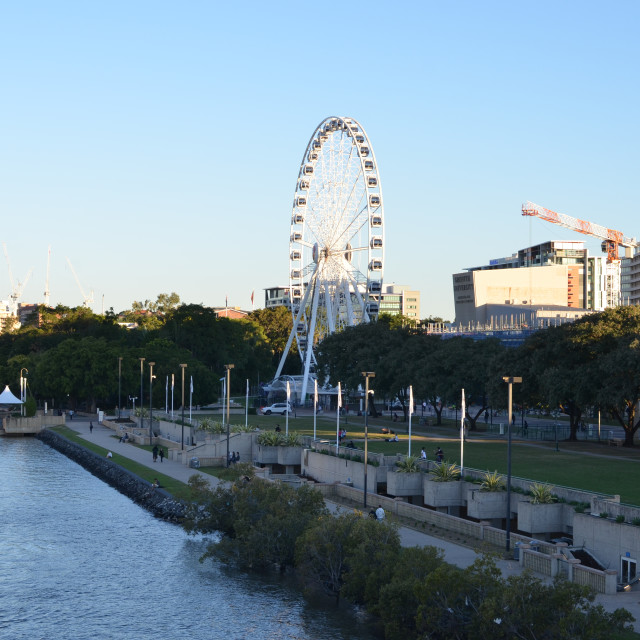 """South Bank Parklands"" stock image"